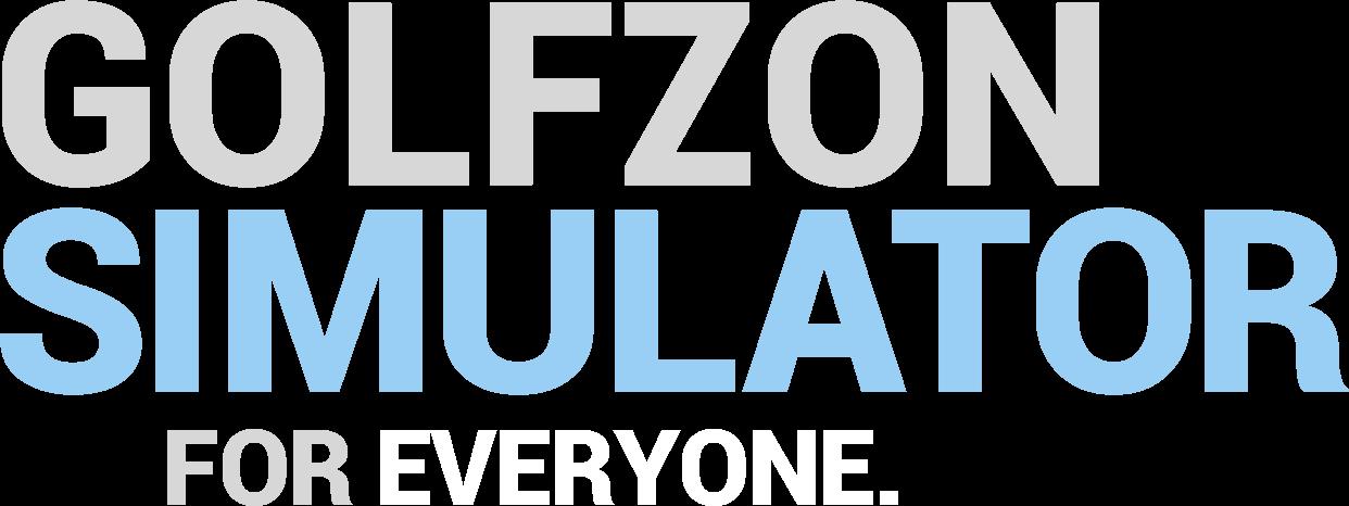 GOLFZON SIMULATOR FOR EVERYONE.