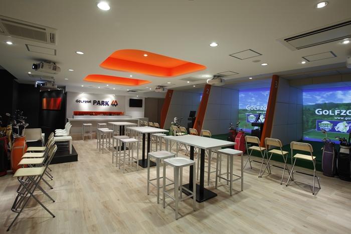 ゴルフシミュレーターで独立開業するときに参考にしたい店舗モデル1