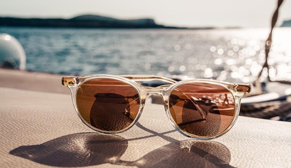日差しの強いラウンドにはサングラスは必須。