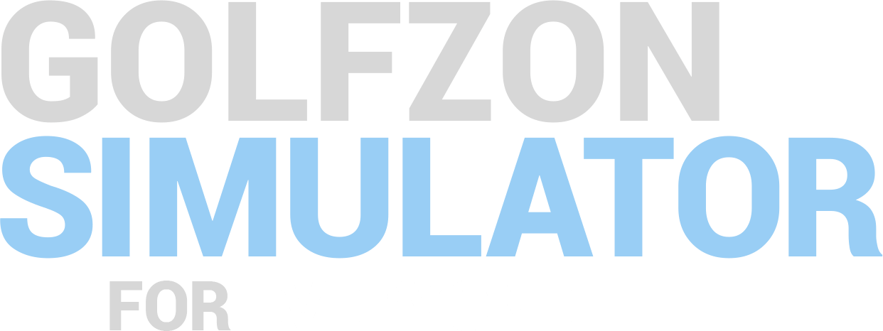 GOLFZON SIMULATOR FOR EVERYONE.
